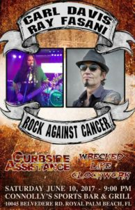rockonray rock against cancer