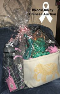 Relaxing Elephant Gift Basket