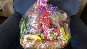 Mother Pucker Gift Basket of Warheads